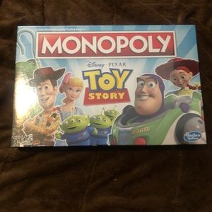 New toy story monopoly game